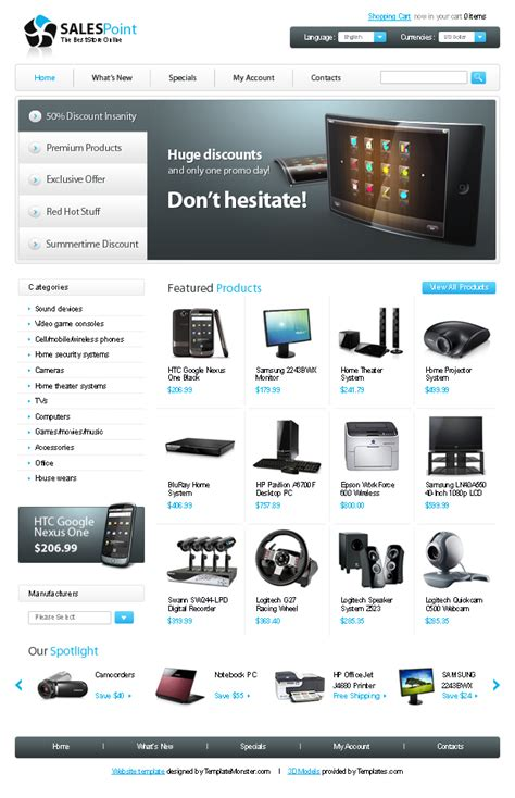 computer store muse template 30 plantillas gratis para tu ecommerce blog de host europe