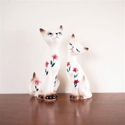 salt ls and cats vintage cat kitten salt pepper shakers ceramic katter