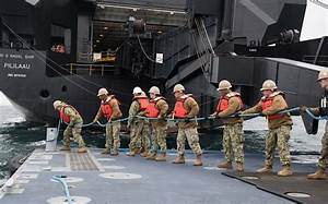 Improved U.S. Navy Lighterage System enables dynamic ...