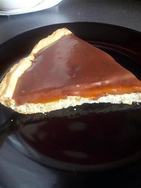 recette de tarte au chocolat caramel beurre sal 233