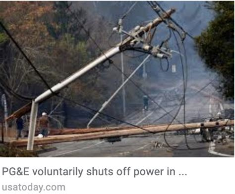 pge outage policy   hour outages