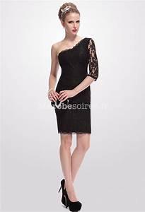 ravissante robe de cocktail avec une manche longue With robe de cocktail combiné avec bracelet cordon noir