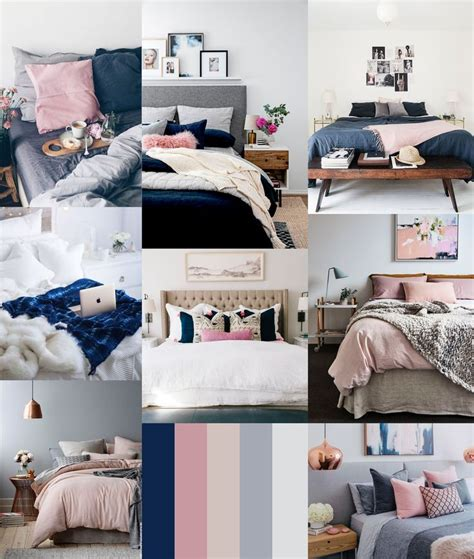 Navy And Pink Bedroom by 27 Best Navy Blush And Gold Bedroom Inspiration Images On