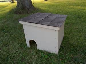 outdoor shelter for cats feralvilla outdoor cat shelter ii