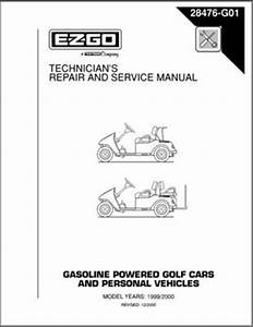 Pu22-630 - Service Manual  Gas   U0026 39 97- U0026 39 00 Txt