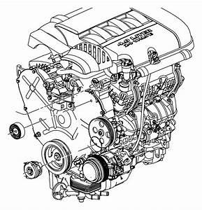 2010 Chrysler Sebring Tensioner  Belt  Related  Pulleys  Alternator