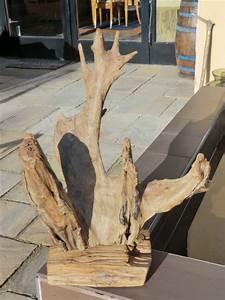 Grundierung Holz Außen : gartendekoration skulptur teakholz f r au en holz dekoration wurzel teak ebay ~ Whattoseeinmadrid.com Haus und Dekorationen