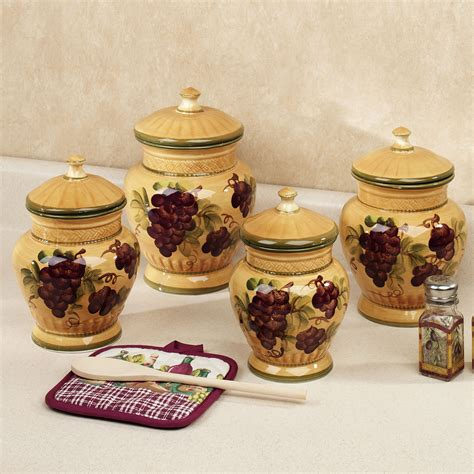 canister sets for kitchen ceramic kitchen canisters ceramic sets gallery also decorative