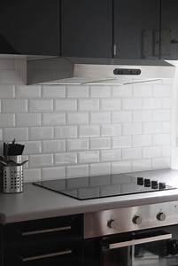 Carrelage Mural Pour Cuisine : carrelage cuisine mural blanc ~ Dailycaller-alerts.com Idées de Décoration