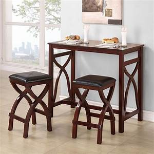 dining room impressive twin leather cushioned stools With dining room tables for small apartments