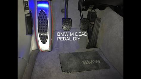 bmw   dead pedal install youtube