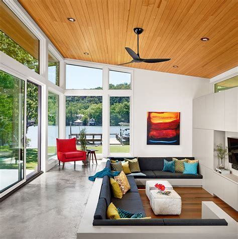 8 Modern Conversation Pits That Let You Sink Into Relaxed