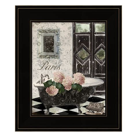 Beautiful hydrangea designed wall decoration made of cream porcelain on an antique gold leaf finished iron stem. Le Bain Hydrangea Framed Wall Art (With images) | Framed ...