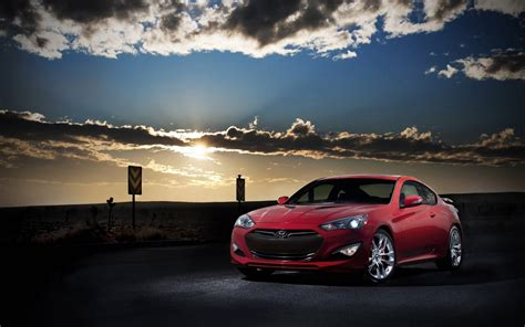 Hyundai Backgrounds by Hyundai Genesis Coupe Wallpaper Hd Wallpaper Background