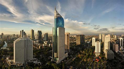 jakarta indonesia skyline wallpaper hd wallpaperscom
