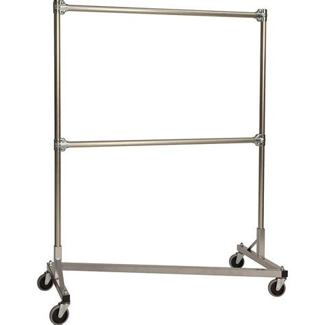 heavy duty clothes rack quality fabricators silver z rack heavy duty clothes rack