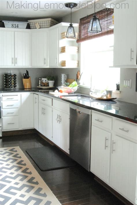 kitchen remodel with white cabinets budget friendly modern white kitchen renovation home tour 8412