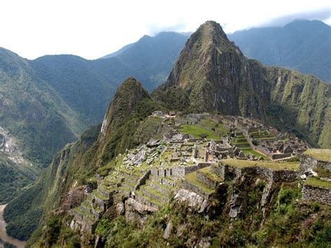 Machu Picchu Perutourism In The Word