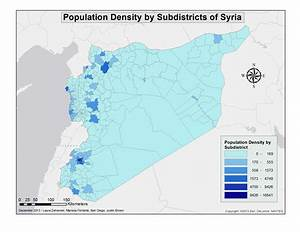 Syrian Population - Fundamentals of GIS 2013