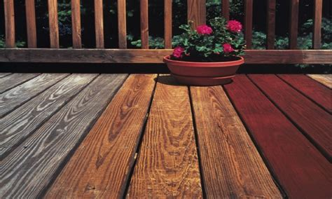 Best Wood Deck Stain Colors Sherwin Williams Deck Stain