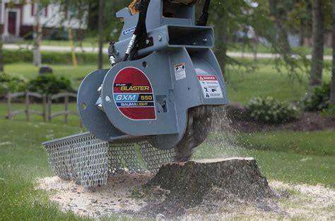 excavator stump grinders baumalight