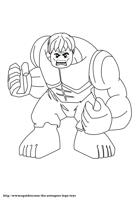Lego Superheroes Coloring Pages Bestofcoloringcom