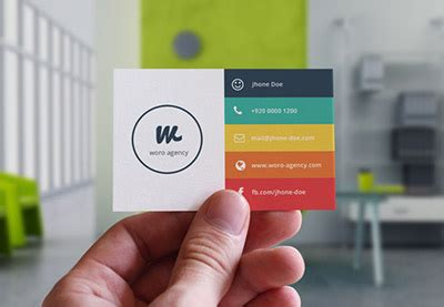 tips   information  put   business card