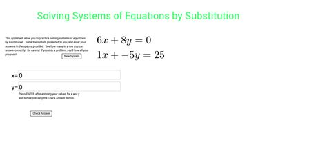 Solving Systems Of Equations By Substitution Worksheet Worksheets For All  Download And Share
