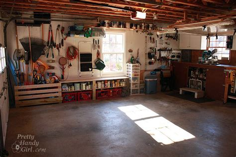 organized garage  workshop hometalk