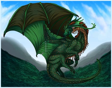 How To Draw A Cool Dragon, Step By Step, Drawing Guide, By