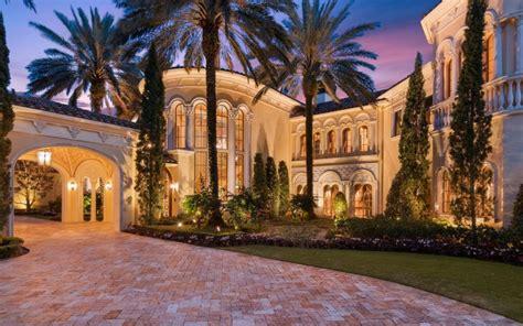17,000 Square Foot Mediterranean Style Mansion In Jupiter