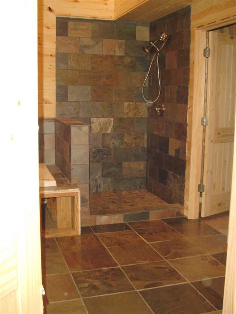 bathroom comfortable walk  shower rooms  modern