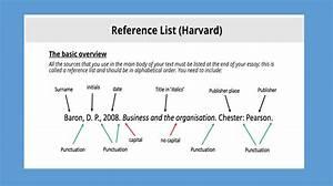 Harvard Reference List Blog