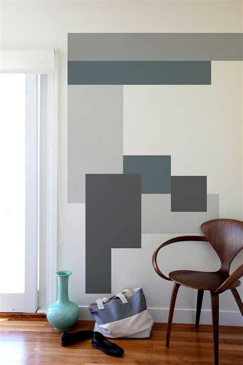 10 Modernos Interiores Color Block Decoracion de paredes