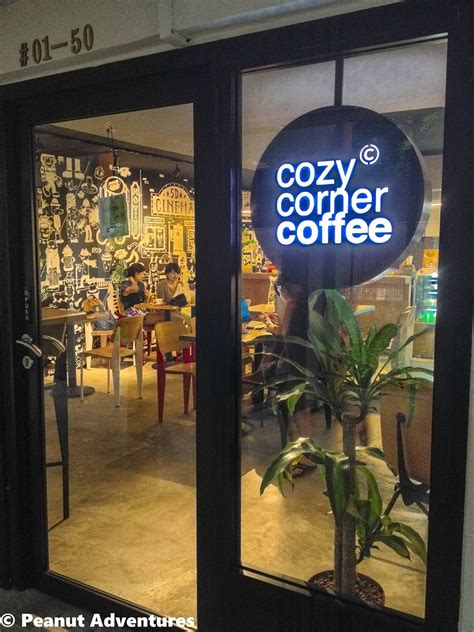 When you want breakfast or lunch in fairfax, va, come to corner coffee house! Peanut Adventures: COZY CORNER COFFEE CAFE @ OUTRAM PARK