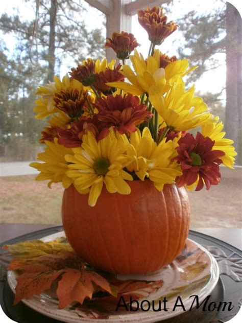 how to make a fall centerpiece how to make a simple fall centerpiece