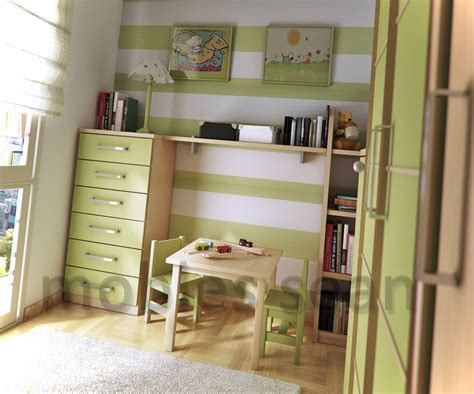 Space Saving Ideas For Small Kids Rooms : Space-saving Designs For Small Kids Rooms