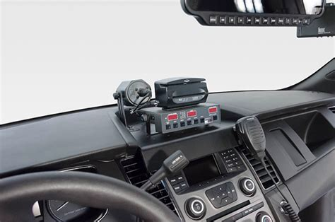 proclip mounts installed  local police cars