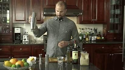 Cream Whipped Shaker Cocktail Homemade Close Shake