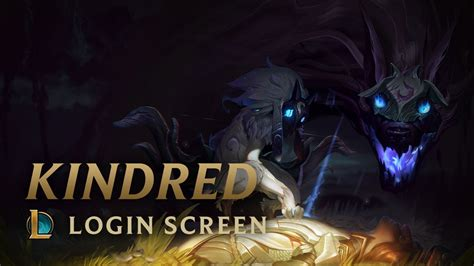 Kindred Animated Wallpaper - kindred the eternal hunters login screen league of