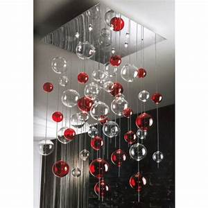Luminaire Boule Verre : fontaine de lumi re boules de verre souffl de murano fontaines de lumi re luminaire ~ Teatrodelosmanantiales.com Idées de Décoration