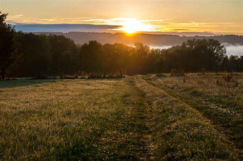 picture landscape sunrise agriculture dawn sun