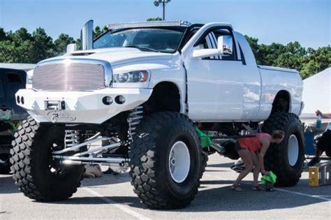 dodge ram  megacab diesel show truck monster sema