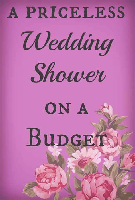 a priceless bridal shower on a budget