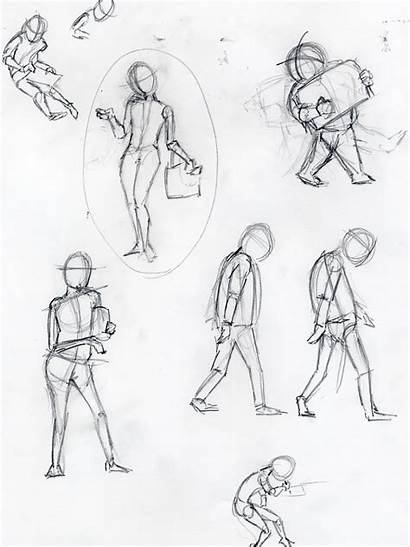 Posing Sketching Sketch Sketches Pose Quick Draw