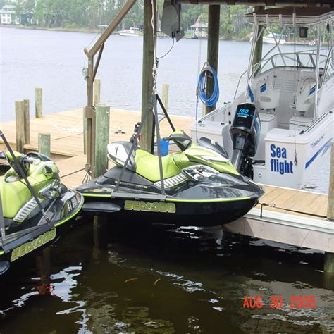 Sea Doo Boat Lift For Sale by Prohoists Pwc Jet Ski Lift Dock Hoist Harness Sling 1500