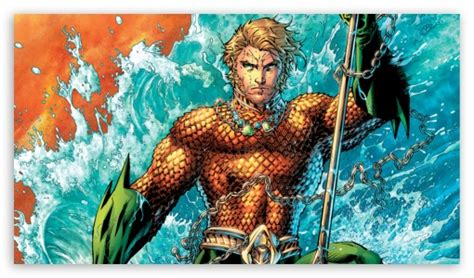 New 52 Aquaman 4k Hd Desktop Wallpaper For 4k Ultra Hd Tv