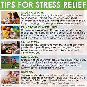 Tips for Stress Relief | Psychology/Mental health | Pinterest