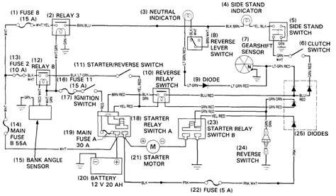 2006 Honda Goldwing Trailer Wiring Diagram by Honda Goldwing 1800 Wiring Diagram