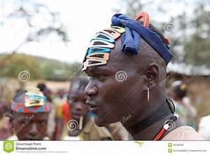 African Tribal Man Editorial Stock Image - Image: 30105394